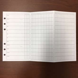 #8 Monthly Tracker