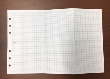 #6 Grid 2 Months on a page (box format)